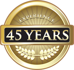 Forty-Five Years Experience Pure Gold Award